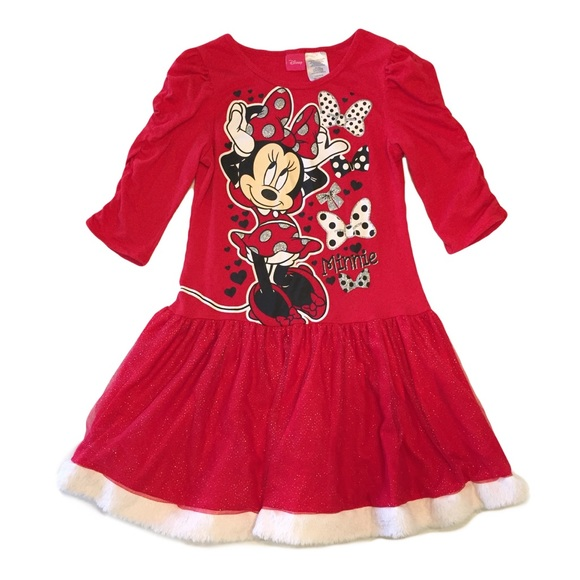0998bd010 Disney Dresses | Minnie Mouse Dress 10 12 Costume Large | Poshmark